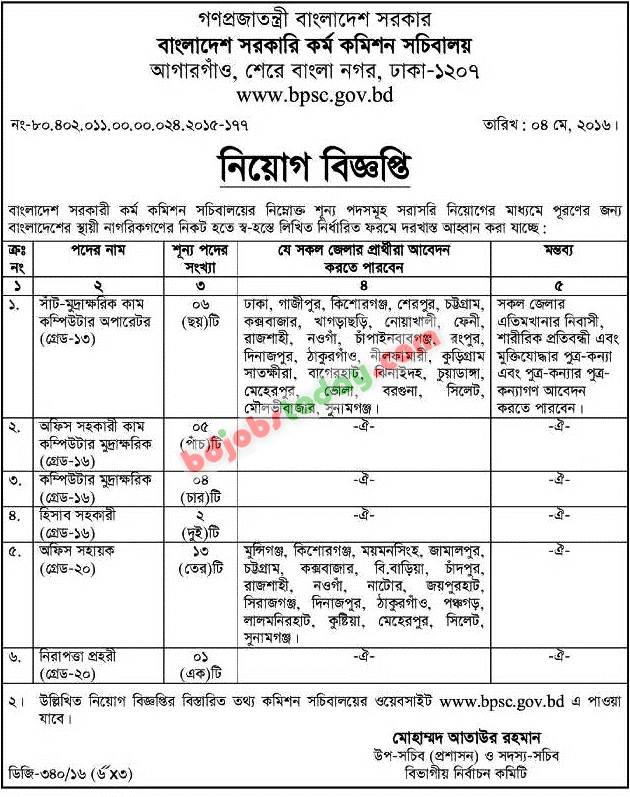 Bangladesh public service commission | Coursework