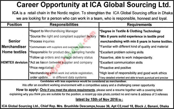 Ica Global Sourcing Ltd