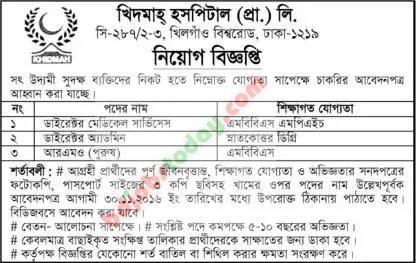 "khidmah general hospital (pvt) limited, ""director"