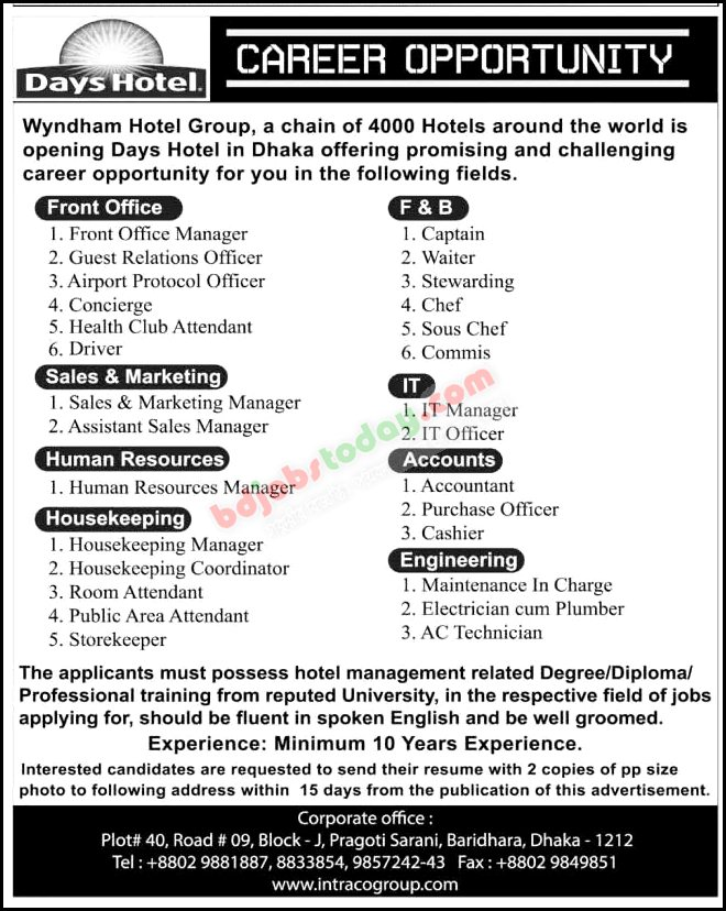 Wyndham Hotel Group jobs