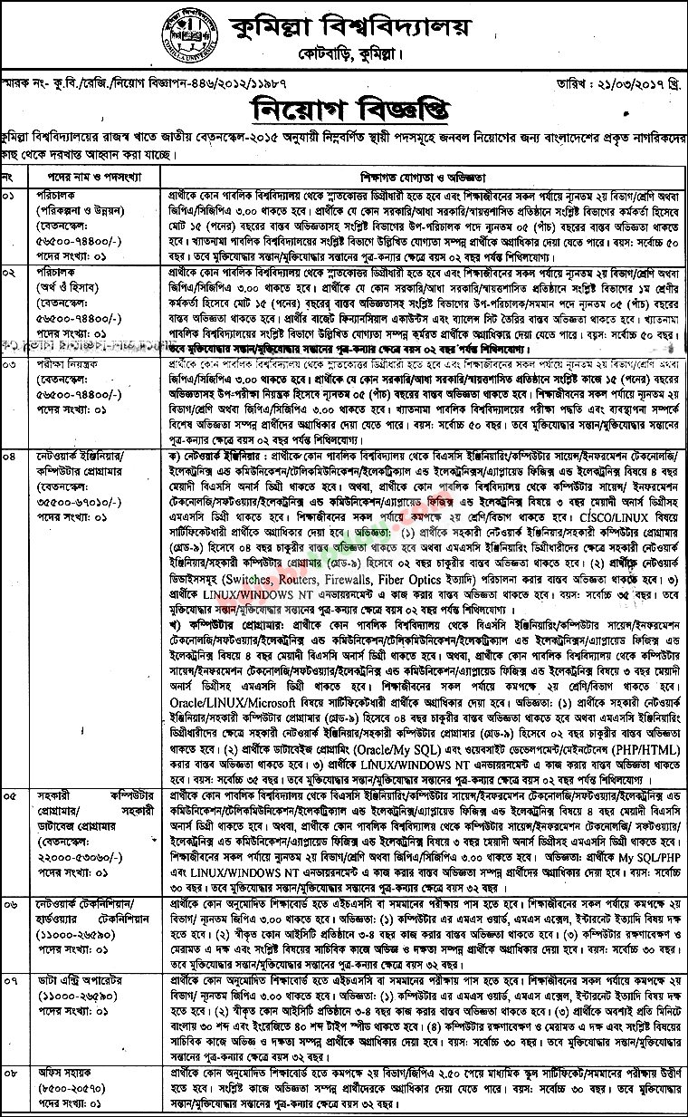comilla university jobs. Resume Example. Resume CV Cover Letter