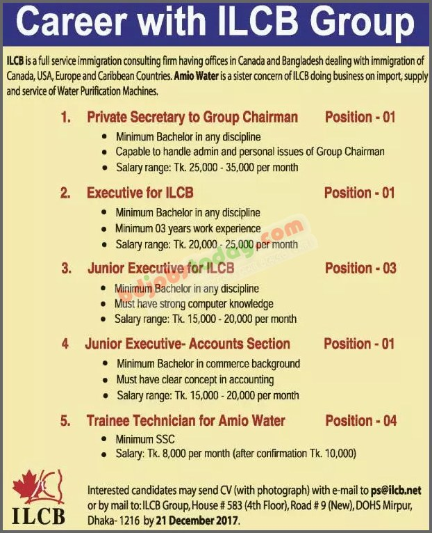 ILCB Group jobs