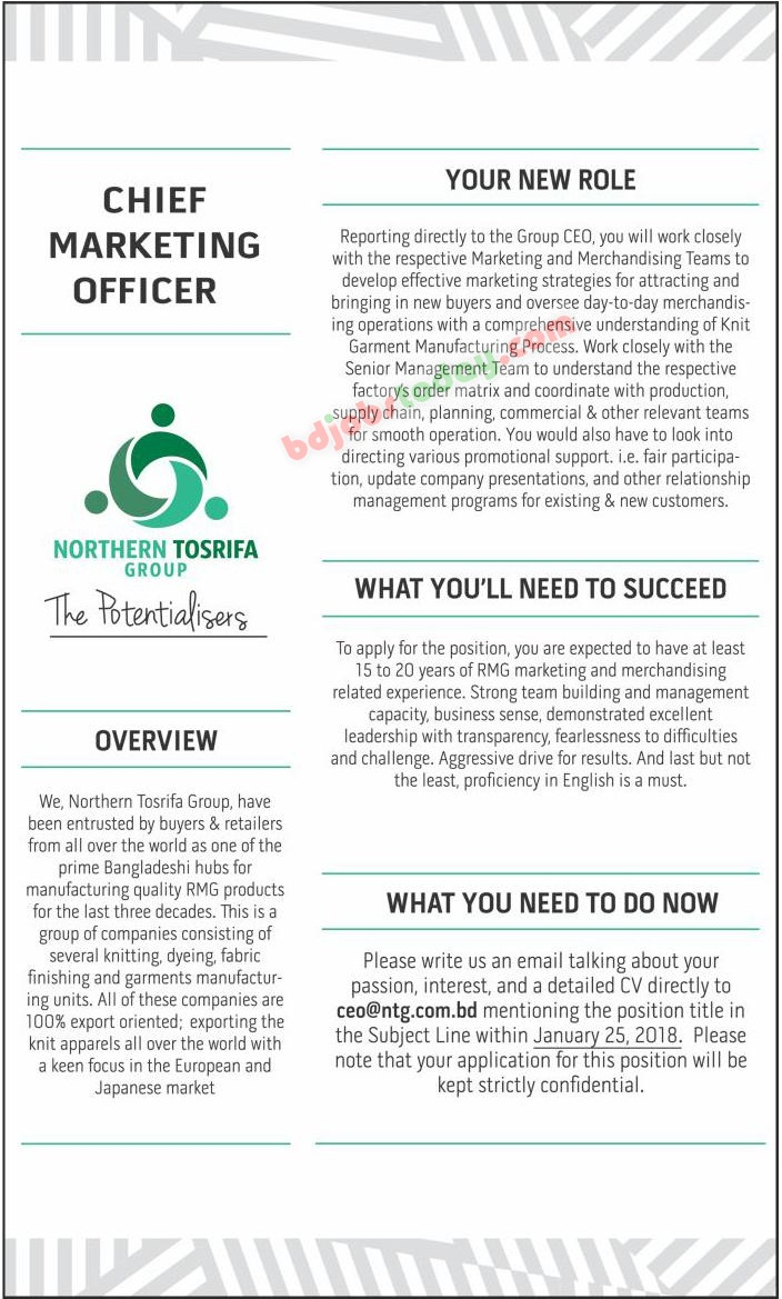 Northern Tosrifa Group jobs
