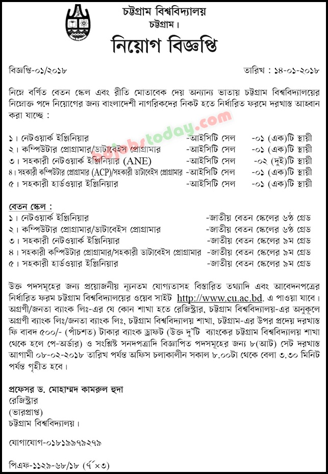"Chittagong University, ""Computer Programmer/Database Programmer ..."