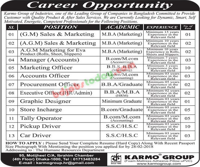Karmo Group jobs