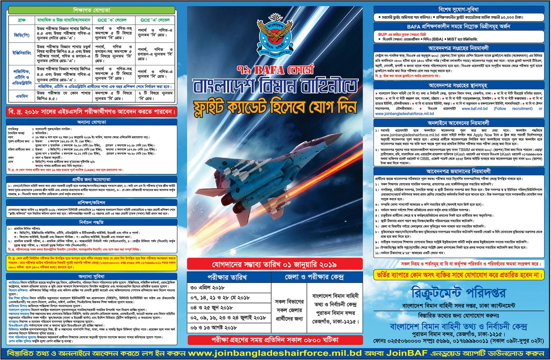 Bangladesh Air Force jobs